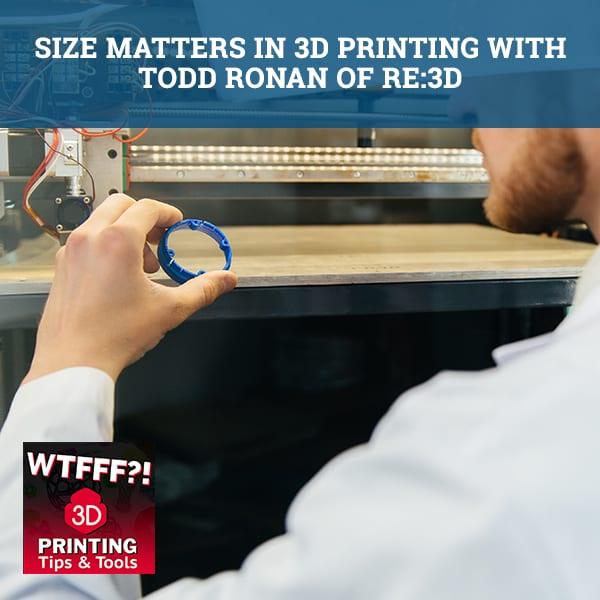 WTF O16 | 3D Printing Size