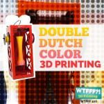 Builder Dual 3D Printer Review – Double Dutch Color 3D Printing