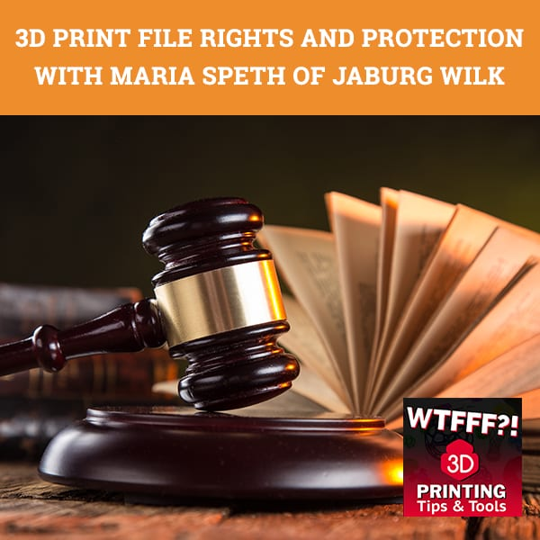 WTF 134 | 3D Print File Rights