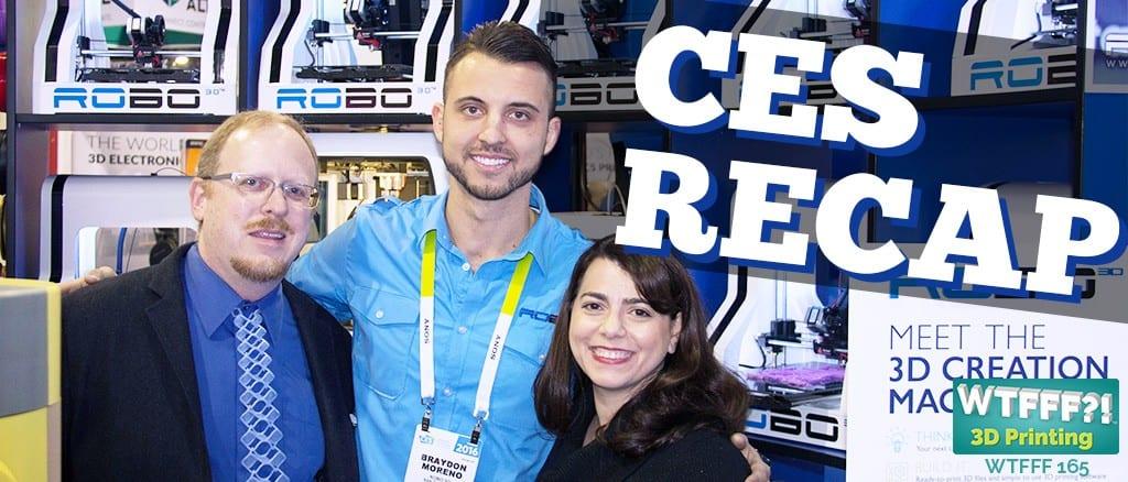 WTFFF | CES 3D Printing Recap