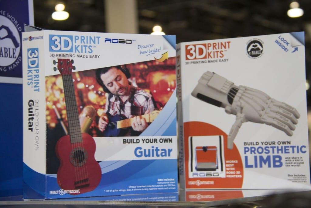 Robo 3D print kits