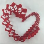 3D Wow Tie | Twist Tie Heart | Hazz Design
