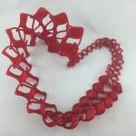 3D Wow Tie | Twist Tie Heart | Hazz Design