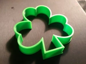 3D Printed St. Patrick's Day 2016