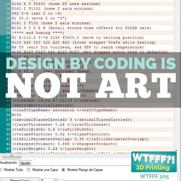 WTFFF 205 | Design by Coding is Not Art