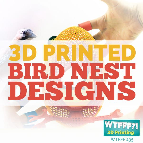 WTFFF 235 | 3D Printed Bird Nest Designs