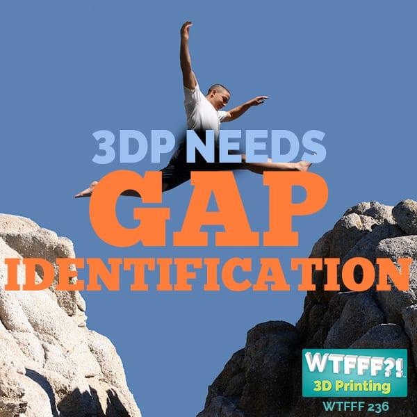 WTFFF 236 | 3D Print Market Needs Gap Identification