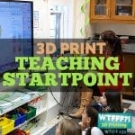 3D Print Teaching Startpoint with Drew Lentz of MakerBot