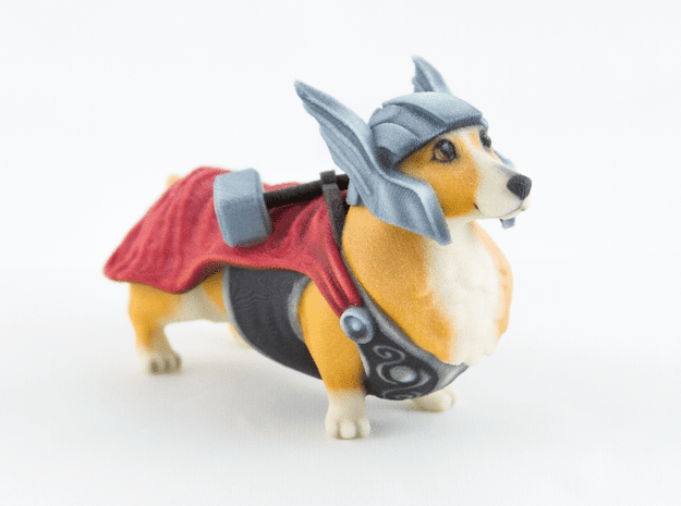 Thorgi by Eric Ho of Raw Legend Collaborations on Shapeways