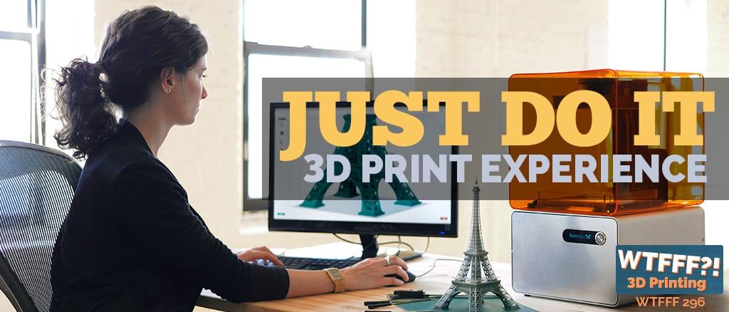 WTFFF 296   3D Print Experience