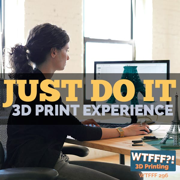 WTFFF 296 | 3D Print Experience