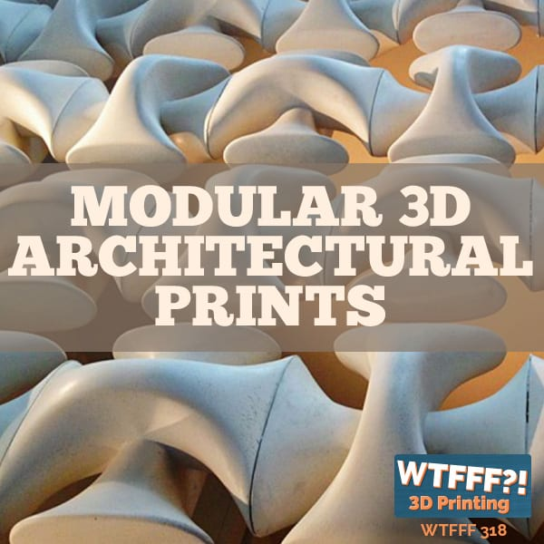 WTFFF 318 | Modular 3D Architectural Prints