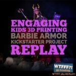 3D Printing Barbie Armor Project on Kickstarter – REPLAY