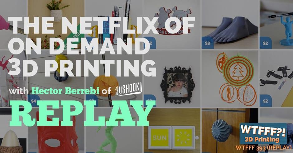 WTFFF 393   3D Print Netflix