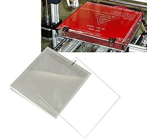 eated Bed Tempered Borosilicate Glass Plate, one of the 3d printing accessories