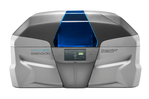 DragonFly 2020 by Nano Dimension, one of the top 3D printing companies