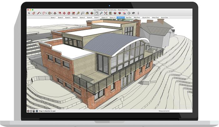Sketchup 3D modelling