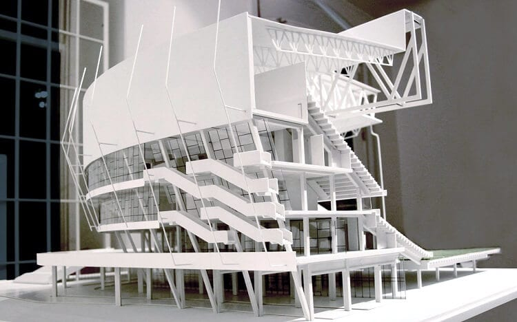 3D print of an architecture design