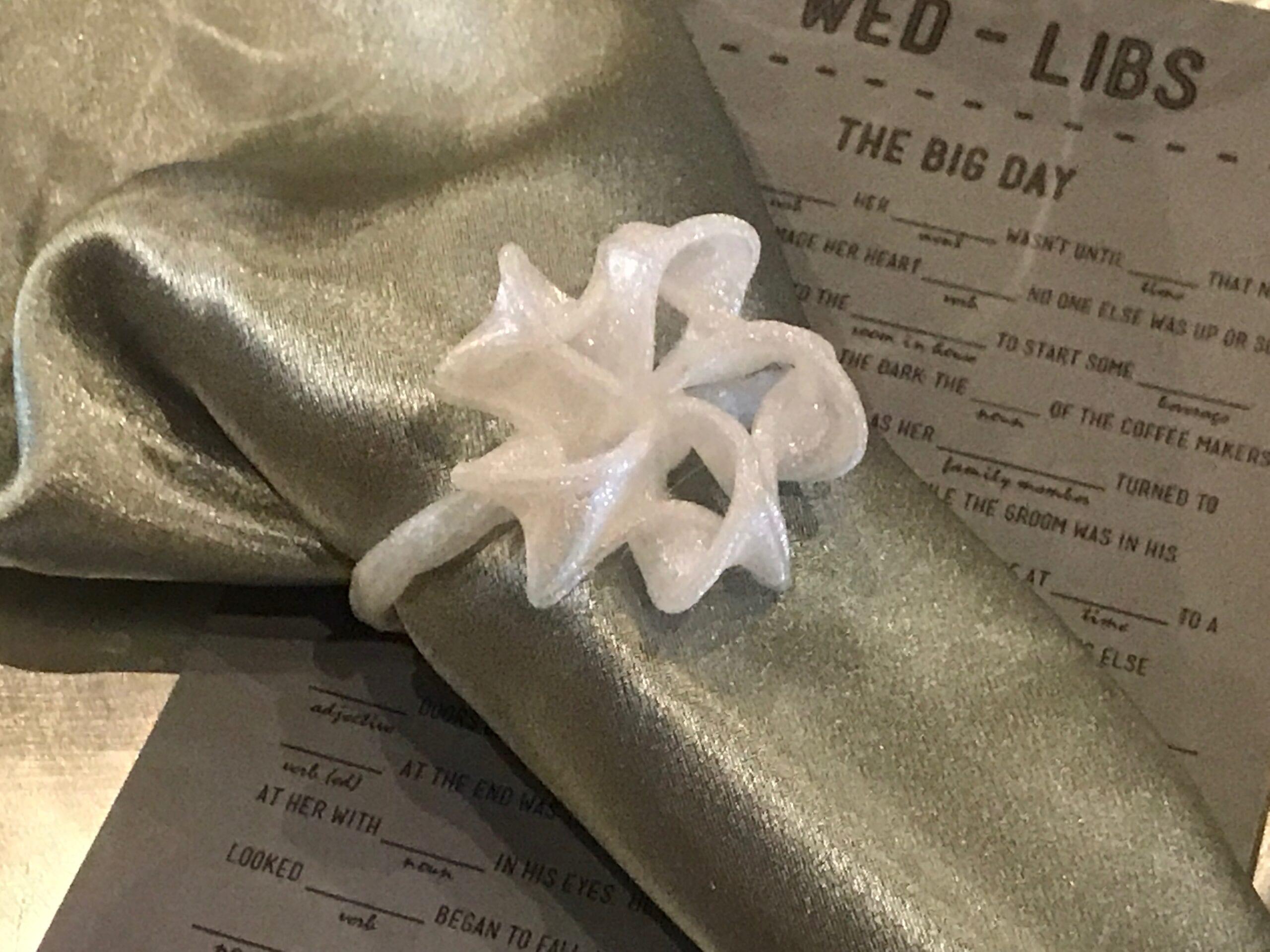 3d Printed Wedding Favors