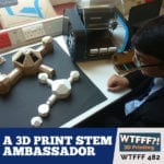A 3D Print STEM Ambassador with Grant Mackenzie of CEL