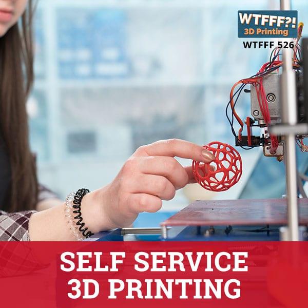 WTFFF 526 | Self Service 3D Printing