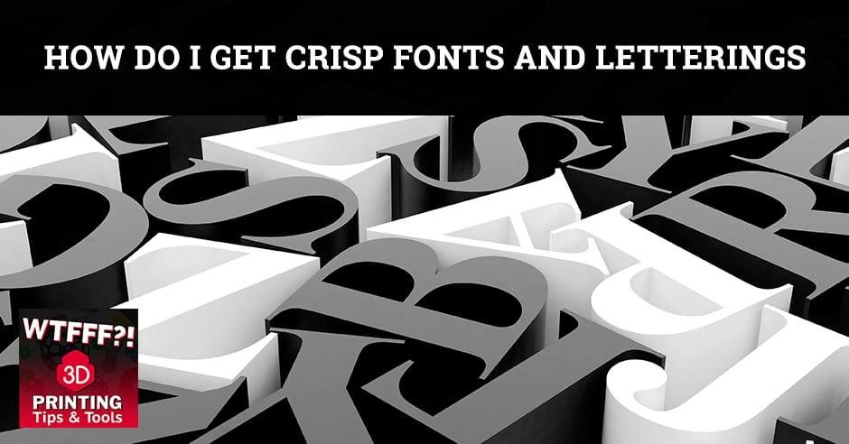 WTF 010 | 3D Printing Fonts