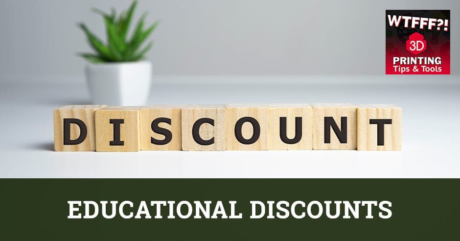 WTF 083 | Education Discounts
