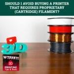 WTFF Cartridge | Proprietary 3DP Filament
