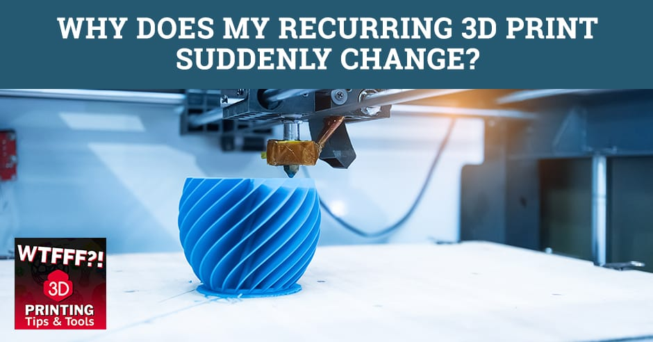 WTFF Change | 3D Print Sudden Change
