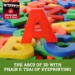 WTF ABCs | XYZprinting