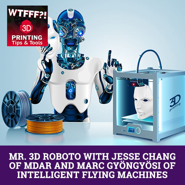 WTF Mr. 3D | 3D Printing And Robotics